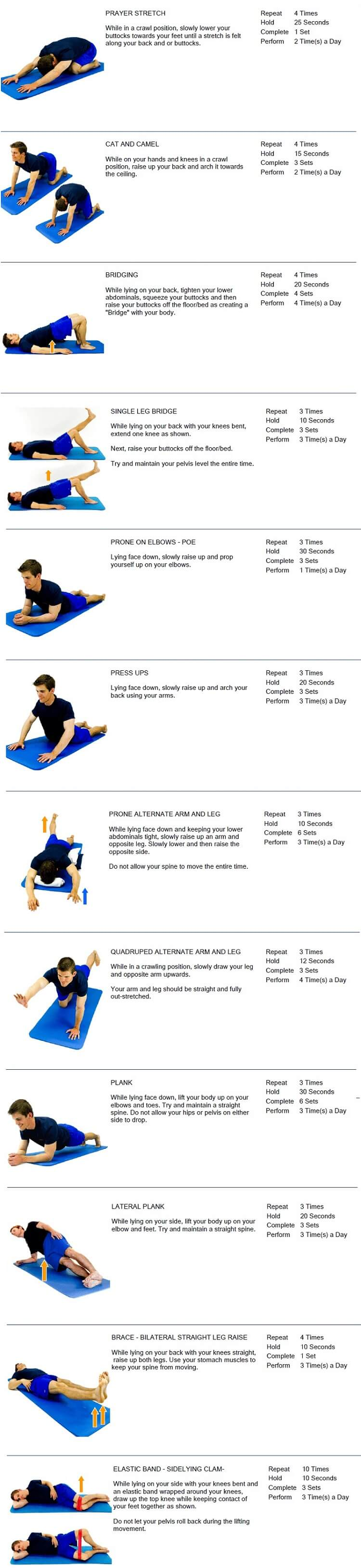 Core and Glutes Exercises