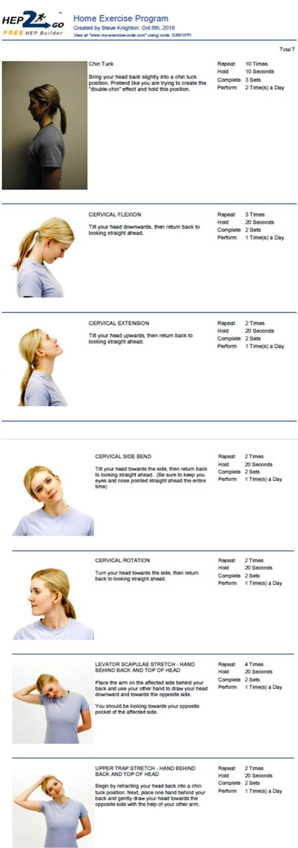 Neck Stretches Chiropractor Approved