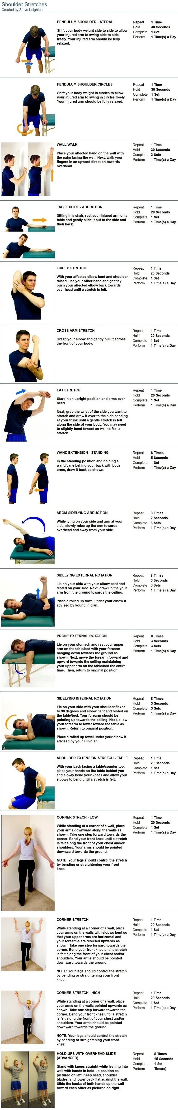 Shoulder Stretches Chiropractor Approved