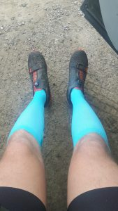 Compression socks for sports baby blue lots of colours !