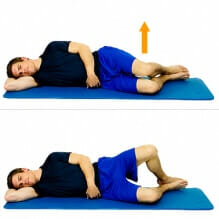 clam exercise for low back pain