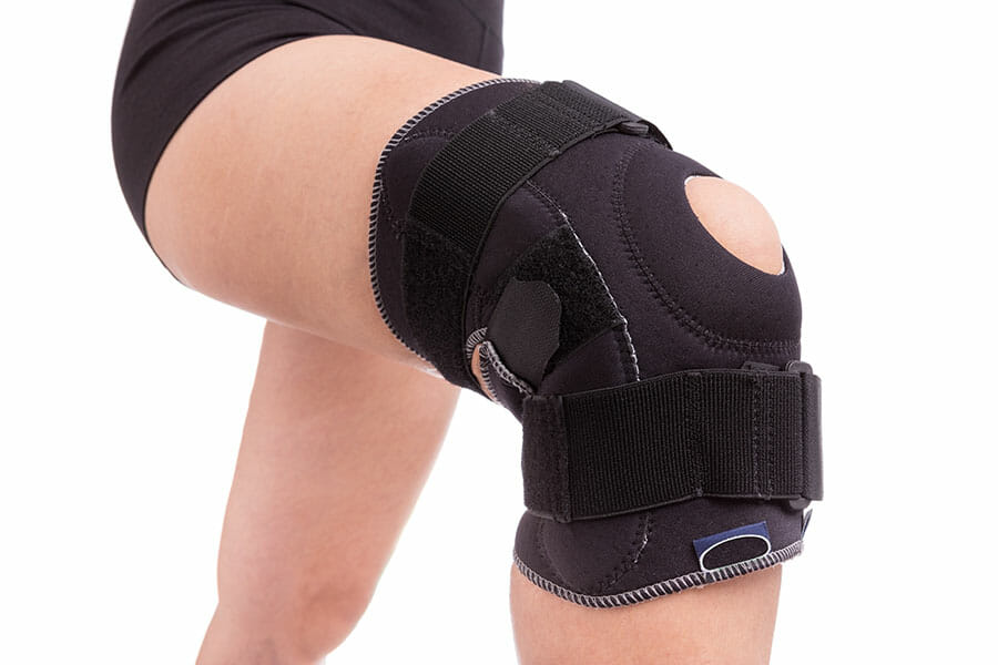 Physiotherapy Oakville knee brace for pain
