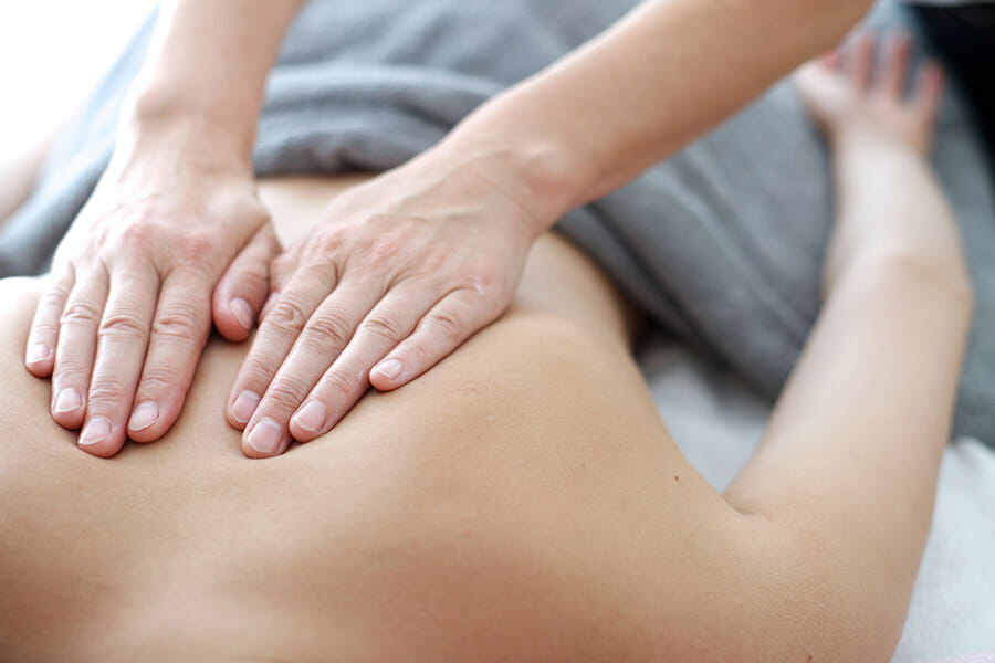 massage therapy oakville upper back pain