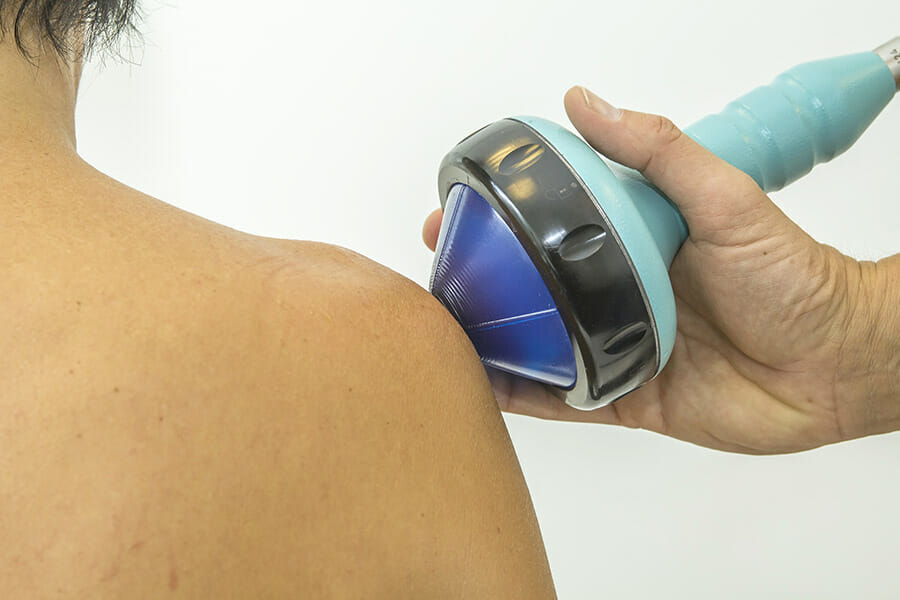 shockwave therapy oakville shoulder treatment